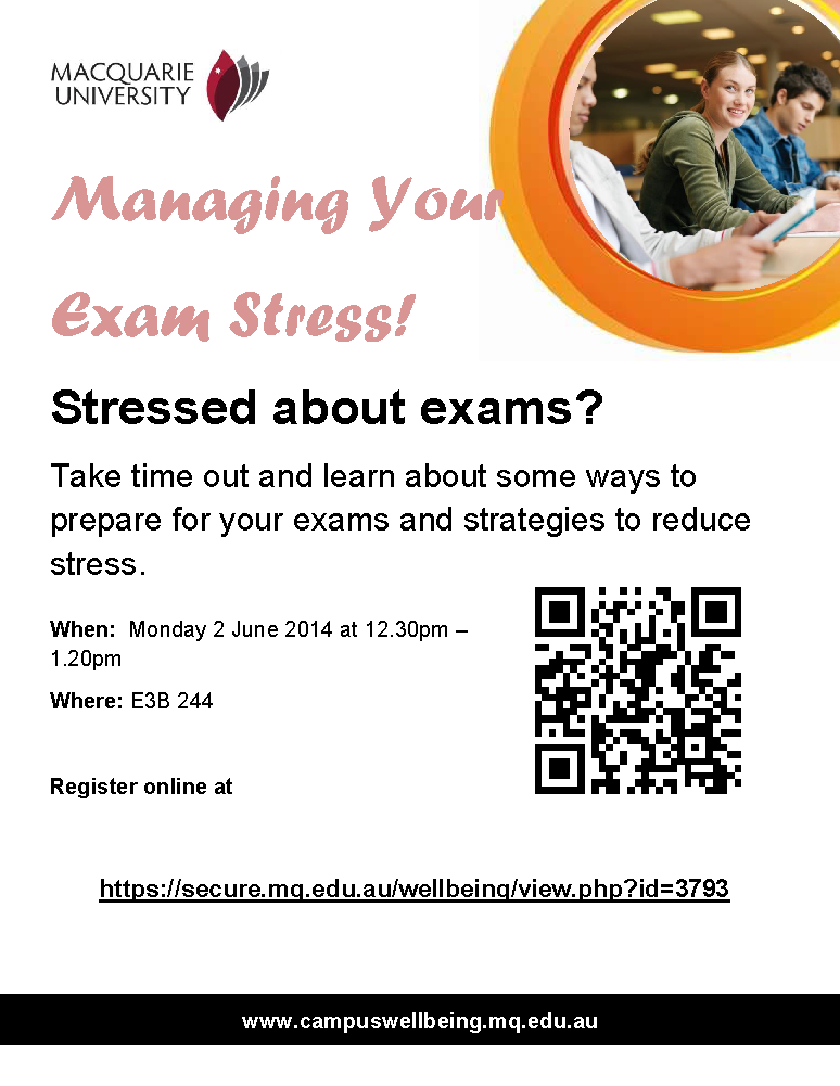 Exam Stress Exam Stress Workshop Flyer 1 1